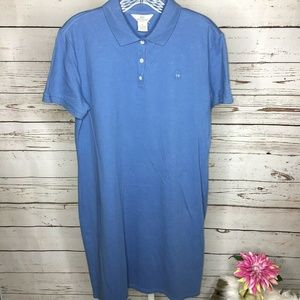346 Brooks Brothers Short Sleeve Polo Dress Size M